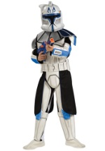 Deluxe Child Blue Clone Trooper Rex Costume